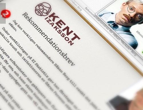 Kents rekommendationsbrev