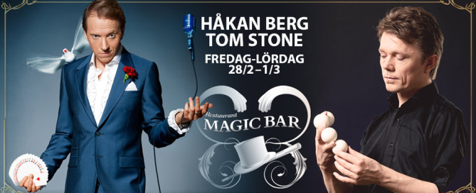 Håkan Berg på Magic Bar