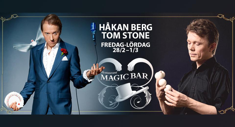 Håkan Berg på Magic Bar