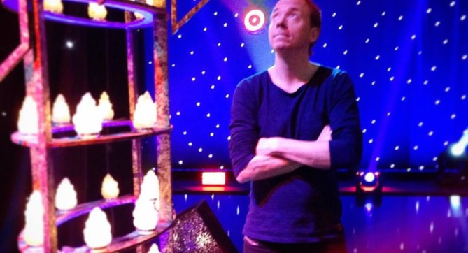 Håkan Berg i TV-studion